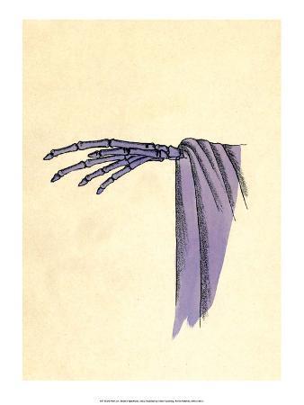 Purple Skeleton Hand