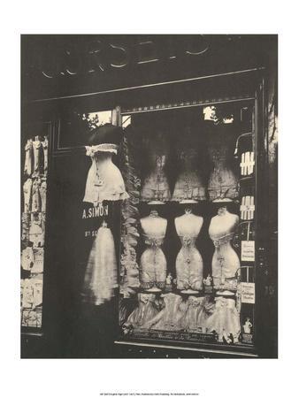 Lingerie Shop, Boulevard de Strasbourg Paris, 1912