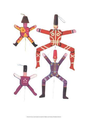 Wooden Jumping Jacks - Folk Toys