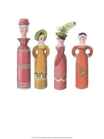 Wooden Dolls - Folk Toys