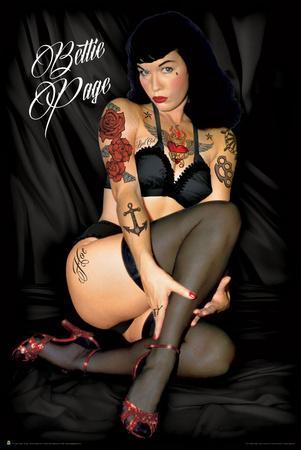 Bettie Page - Tattoo