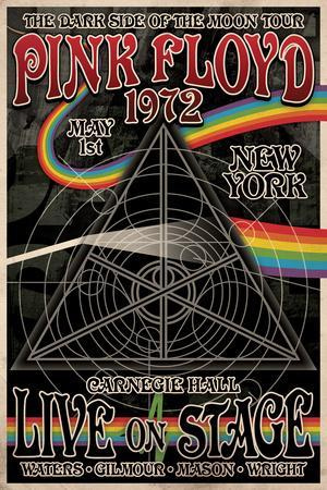 Pink Floyd 1972 Carnegie Hall Posters At Allposters Com