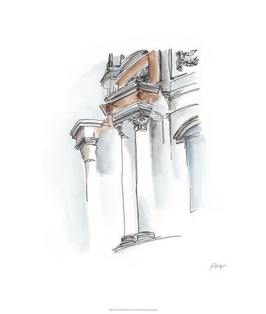 European Watercolor Sketches IV