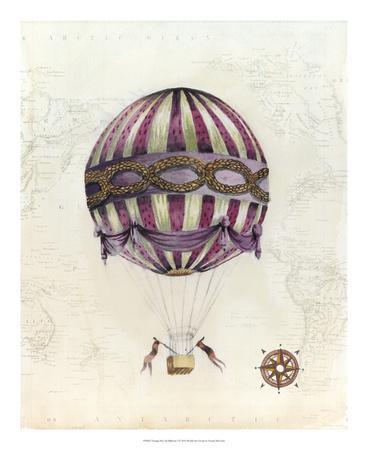 Vintage Hot Air Balloons I