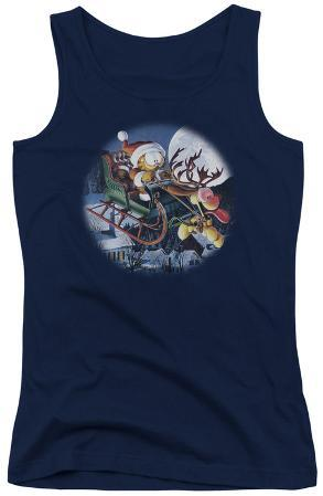 Juniors Tank Top: Garfield - Moonlight Ride