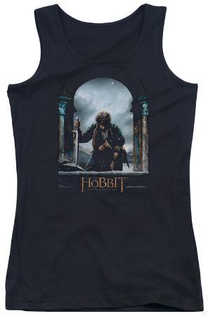 Juniors Tank Top: Hobbit - Bilbo Poster