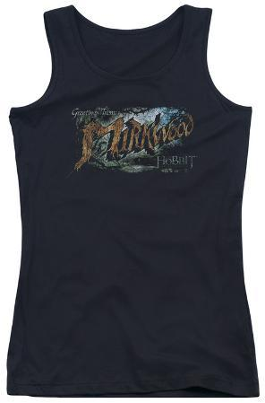Juniors Tank Top: Hobbit - Greetings From Mirkwood