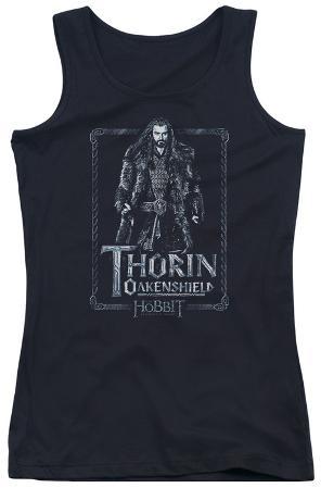 Juniors Tank Top: The Hobbit - Thorin Stare