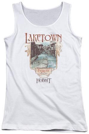 Juniors Tank Top: Hobbitlaketown
