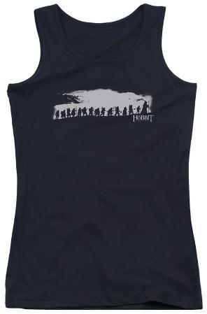 Juniors Tank Top: The Hobbit - The Company