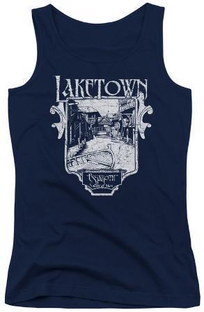 Juniors Tank Top: Hobbit - Laketown Simple