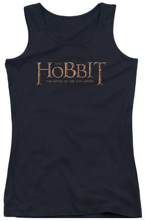 Juniors Tank Top: Hobbit - Logo