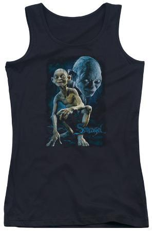 Juniors Tank Top: The Lord of the Rings - Smeagol