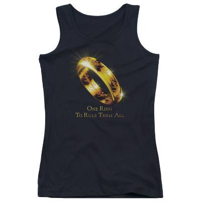 Juniors Tank Top: The Lord of the Rings - One Ring