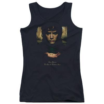 Juniors Tank Top: The Lord of the Rings - Frodo One Ring