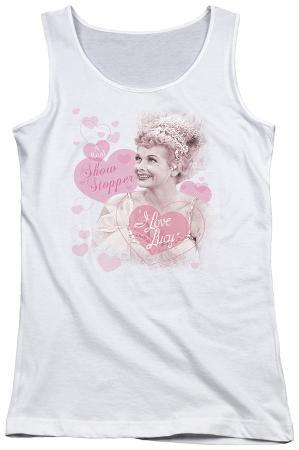 Juniors Tank Top: Lucy - Show Stopper