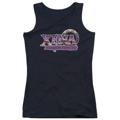 Juniors Tank Top: Xena - Logo