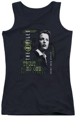 Juniors Tank Top: X Files - Scully