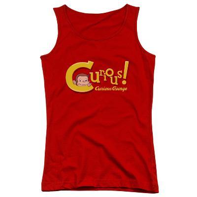 Juniors Tank Top: Curious George - Curious