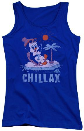 Juniors Tank Top: Chilly Willy - Chillax