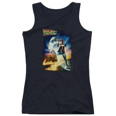 Juniors Tank Top: Back To The Future - Poster