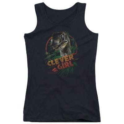 Juniors Tank Top: Jurassic Park - Clever Girl
