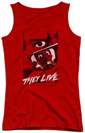 Juniors Tank Top: They Live - Graphic Poster