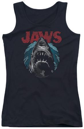 Juniors Tank Top: Jaws - Water Circle