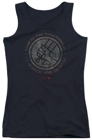 Juniors Tank Top: Hellboy II - Bprd Stone