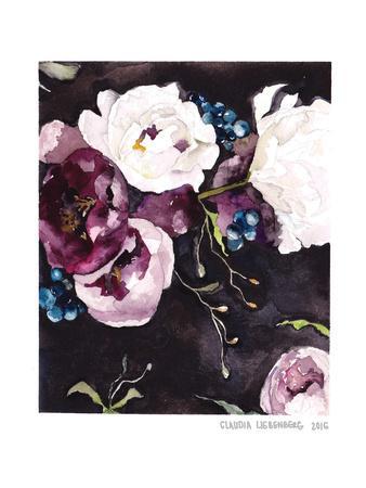 Blooms On Black 5