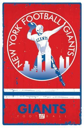 New York Giants - Retro Logo 15