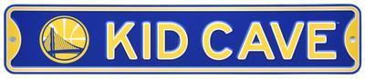 Golden State Warriors Steel Kid Cave Sign