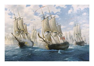 Battle of Chesapeake, 5th September 1781