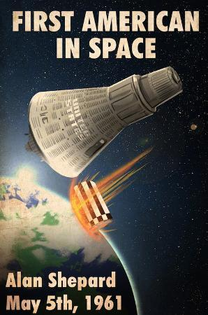 Alan Shepard, First American in Space