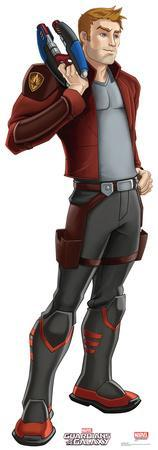 Star-Lord - Animated Guardians Of The Galaxy Lifesize Standup