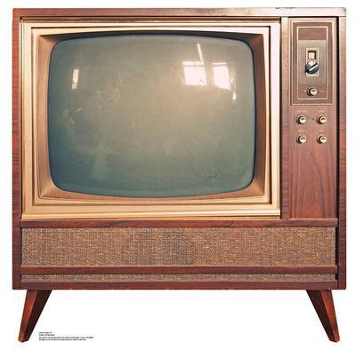 Vintage TV Lifesize Standup