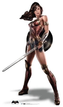 Wonder Woman - Batman v Superman: Dawn Of Justice Lifesize Standup