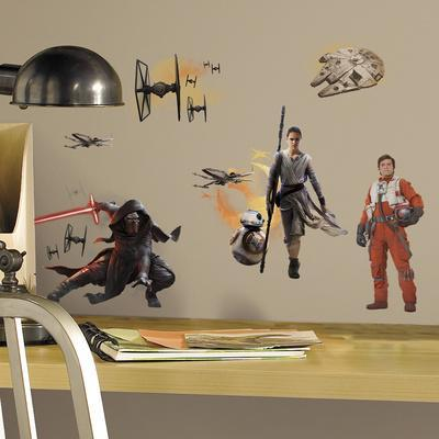 Star Wars: Ep VII Ensemble Cast Peel & Stick Wall Decals