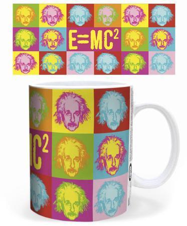 Einstein - Pop Art Mug