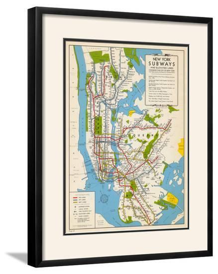 Subway Map New York For Print.1949 New York Subway Map New York United States