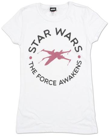 Women's: Star Wars The Force Awakens- Round Word