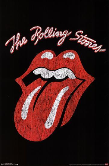 Rolling Stones Classic Logo Prints At Allposters Com