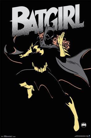 Batgirl- Shadow Silhouette