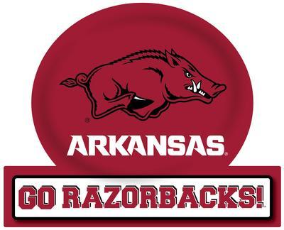 Arkansas Razorbacks Jumbo Tailgate Peel & Stick