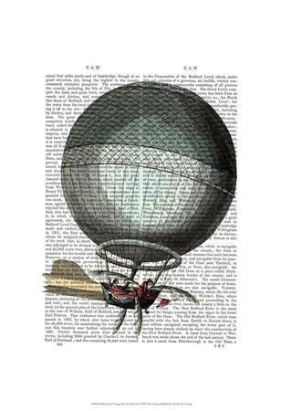 Blanchard Vintage Hot Air Balloon
