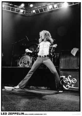 Led Zeppelin - Robert Plant - Earls Court 1975