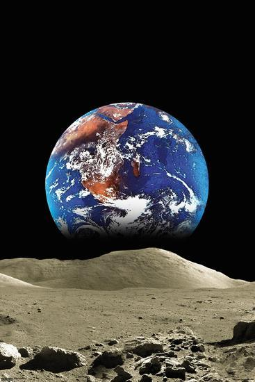 earth from the moon poster at allposters com