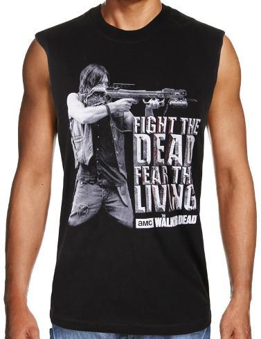 The Walking Dead Fight The Dead Fear The Living Sleeveless T-Shirt