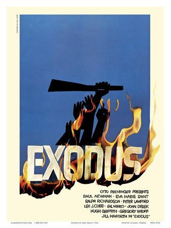 Exodus Motion Picture - Jewish state of Israel