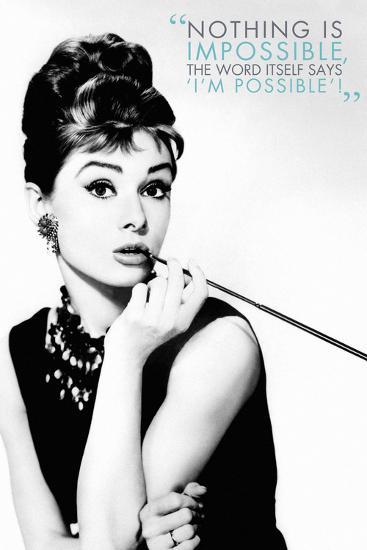 Audrey Hepburn Quote Posters At Allposters